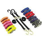 "BikeMaster 1"" Tiedowns - MASTER Cruiser Riding Accessories"