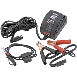BikeMaster Automatic Battery Charger - Battery Tender Waterproof Charger