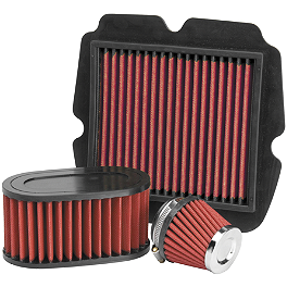 BikeMaster Air Filter - 2002 Honda VFR800FI - Interceptor NGK Laser Iridium Spark Plugs