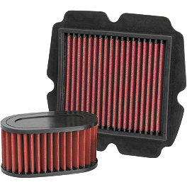 BikeMaster Air Filter - 2004 Kawasaki Vulcan 1500 Nomad Fi - VN1500L PC Racing Flo Oil Filter