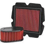 BikeMaster Air Filter - Honda Motorcycle Fuel and Air