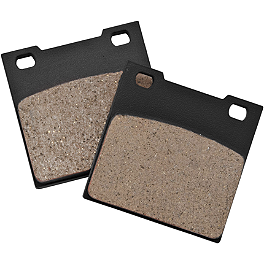 BikeMaster Brake Pads - Rear - 2007 Yamaha Royal Star 1300 Midnight Tour Deluxe - XVZ13CTM Vesrah Racing Semi-Metallic Brake Pads - Rear
