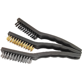 BikeMaster 3-Piece 230mm Brush Set - BikeMaster Scraper Wire Brush Set