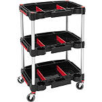 BikeMaster Multi-Purpose Working Cart - Motorcycle Tool Racks, Cabinets and Stations