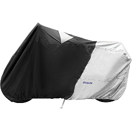 BikeMaster Covermax Deluxe Cover For Sportbikes With High Pipe - CoverMax Deluxe High Exhaust Pipe Motorcycle Cover
