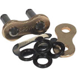 BikeMaster 520 BMOR O-Ring Clip Link - BikeMaster 428 Heavy-Duty Chain - 120 Links