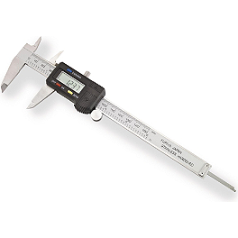 BikeMaster Dual Reading Digital Caliper - DRC Shock Pump with Hose