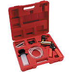 BikeMaster Deluxe Vacuum Testing Brake Bleeding Kit - Motorcycle Riding Accessories