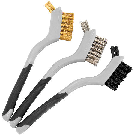 BikeMaster Mini Double Wire Brush Set - Main