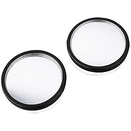 BikeMaster Eyeball Mirror - BikeMaster Black Replacement Mirror - Left