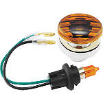 BikeMaster Flat Oval Mini Flush Mount Marker Light - Motorcycle Lights and Electrical