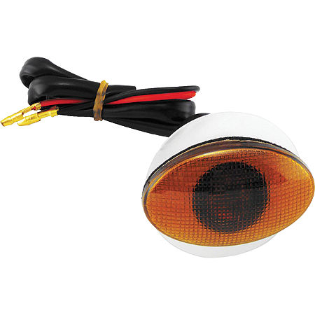 BikeMaster Flat Oval Small Flush Mount Marker Light - Main