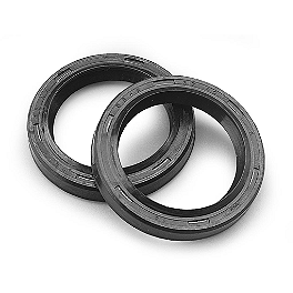 BikeMaster Fork Seals - 1991 Kawasaki EX500A BikeMaster Black Replacement Mirror - Left