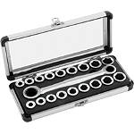 BikeMaster Gear Drive Ultra Lite Socket Set - Dirt Bike Tools and Maintenance Supplies