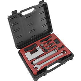 BikeMaster Heavy-Duty Chain Breaker & Rivet Tool - Vortex 520 RV3 Black Master Link - Rivet Style