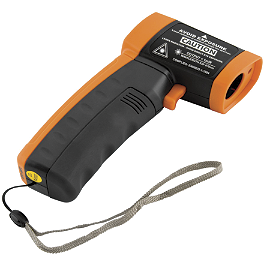 BikeMaster Infrared Thermometer - Motion Pro Pressurizing Gauge