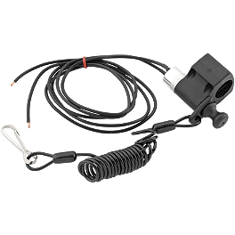 BikeMaster Kill Switch - Normally Closed - 2009 Suzuki LT-R450 Blingstar Mud Screen - Textured Black
