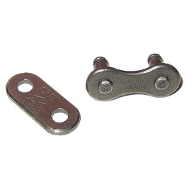 BikeMaster 520 O-Ring Master Link - Rivet Style - 1999 Suzuki DS80 BikeMaster 428 Heavy-Duty Chain - 120 Links