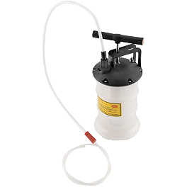 BikeMaster Oil/Fluid Extractor - BikeMaster Funnel With Flexible Hose And Tube