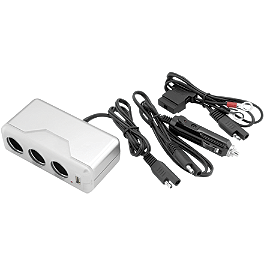 BikeMaster Power Adapter Center - Eklipes 12V Cell Phone/GPS Charger Adapter