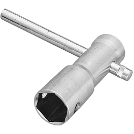 BikeMaster 3-Way Plug Wrench - CruzTOOLS Spark Plug Socket - 5/8
