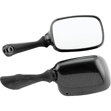 BikeMaster Carbon Look Replacement Mirror - Right - Main