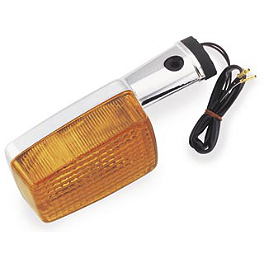 BikeMaster Rear Turn Signal - 1982 Honda Gold Wing 1100 - GL1100 Saddlemen Saddle Skins Seat Cover - Black