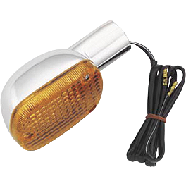 BikeMaster Rear Turn Signal - 1987 Honda Rebel 250 - CMX250C BikeMaster Front Turn Signal Stem
