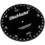 BikeMaster Aluminum Timing Degree Wheel - ATV Engine Parts and Accessories