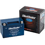 BikeMaster TruGel Battery - Motorcycle Batteries & Motorcycle Battery Chargers