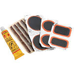 BikeMaster Tire And Tube Patch And Plug Replacement Kit -  Motorcycle Tire Tools