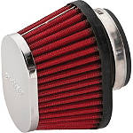BikeMaster Universal Oval Air Filter -  Motorcycle Fuel and Air