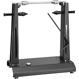 BikeMaster Wheel Balancer And Truing Stand - Motion Pro Tire Changing Station