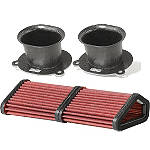 BMC Carbon Racing Air Filter Complete Kit - Ducati Dirt Bike Fuel and Air