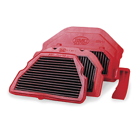 BMC Air Filter - Race - 2008 Honda CBR600RR Powerstands Racing Air Injection Block Off Plate