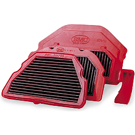 BMC Air Filter - Race - 2003 Honda CBR954RR Powerstands Racing Air Injection Block Off Plate
