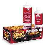 BMC Air Filter Cleaner Kit With Spray -  Motorcycle Air Filter Oil