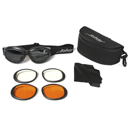 Bobster Cruiser II Goggles - Bobster Bugeye II Interchangeable Goggles