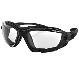 Bobster Renegade Sunglasses Black - Scorpion EXO-200 / EXO-250 Shield