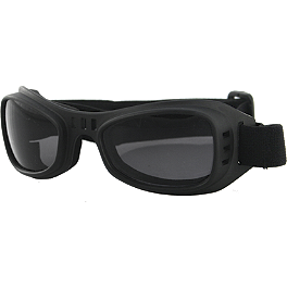 Bobster Road Runner Goggles - Vega Youth X-280 Helmet