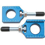 Bolt Axle Blocks - Blue - FEATURED Dirt Bike Dirt Bike Parts