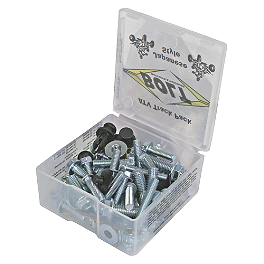 Bolt ATV Track Pack-98 Piece - 2002 Yamaha BIGBEAR 400 2X4 Bolt Hardware Lug-Lock Lug Nuts - 14mm