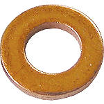 Bolt Drain Plug Sealing Washer M6x11mm - 10 Pack - Motorcycle Oil Filler and Drain Plugs