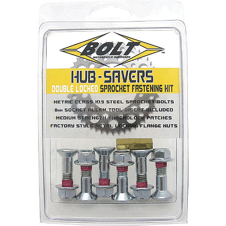 Bolt Hub Saver Sprocket Bolts - Main
