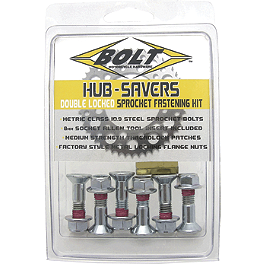 Bolt Hub Saver Sprocket Bolts - 1995 Kawasaki KX500 Renthal Twin Ring Sprocket Kit