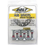 Bolt Hub Saver Sprocket Bolts - Kawasaki KX100 Dirt Bike Drive