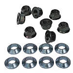 Bolt Hardware Lug-Lock Lug Nuts - 14mm - Black
