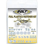 Bolt Full Plastic Fastener Kit -  Dirt Bike Bolt Kits / Motocross Bolt Kits