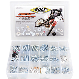 Bolt Honda CR/CRF Pro-Pack - Bolt Full Plastic Fastener Kit