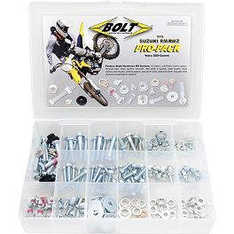 Bolt Suzuki RM/RMZ Pro-Pack - Bolt Axle Blocks - Blue